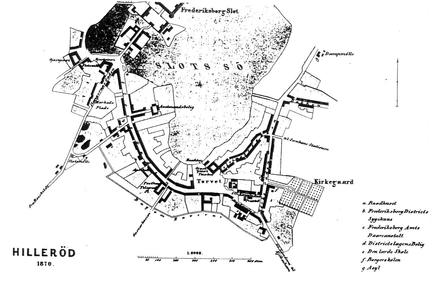 1870Hillerød.Kort