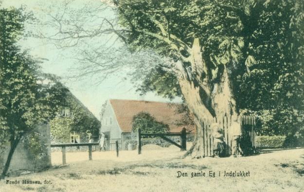 1910. Farvelagt.
