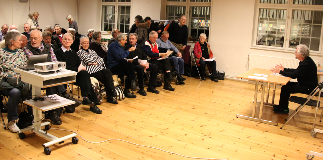 Stort fremmøde ved årets generalforsamling. Foto: Finn Hillmose