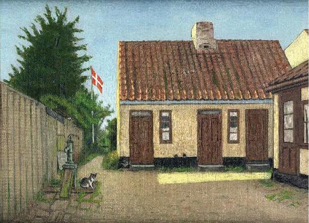 Maleri-BertelBaghuset.1933