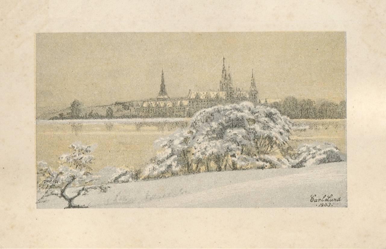 Tegnet af Carl Lund, 1903